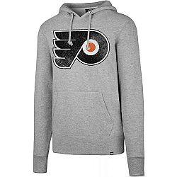 47 NHL Philadelphia Flyers Knockaround '47 HEADLINE šedá XL - Pánska mikina