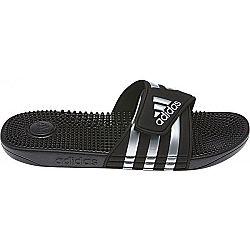 adidas ADISSAGE čierna 4 - Šľapky