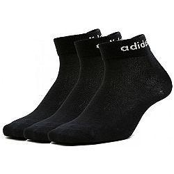 adidas BS ANKLE 3PP čierna 39-42 - Set ponožiek