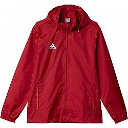 adidas COREF RAI JKTY červená 128 - Detská športová bunda