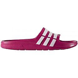 adidas DURAMO SLIDE K ružová 30 - Detské šľapky