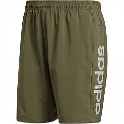 adidas E LIN CHELSEA tmavo zelená 2XL - Pánske šortky