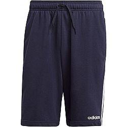 adidas E LIN SHRT FT tmavo modrá M - Pánske šortky