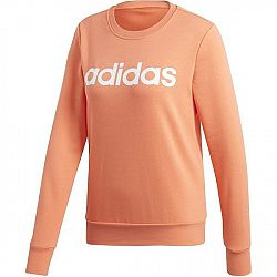 adidas E LIN SWEAT oranžová L - Dámska mikina