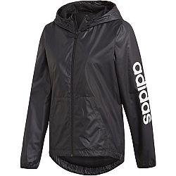 adidas ESSENTIALS LINEAR WINDBREAKER čierna M - Dámska športová bunda