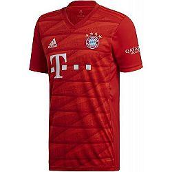 adidas FCB H JSY červená L - Futbalový dres