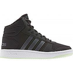 adidas HOOPS MID 2.0 K tmavo modrá 4 - Detská zimná obuv