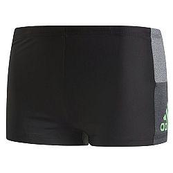 adidas INF CB BX čierna 8 - Pánske plavecké šortky
