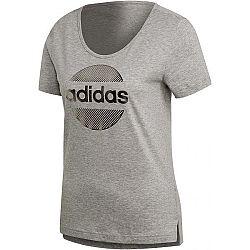 adidas LINEAR TEE II ružová M - Dámske tričko