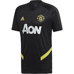 adidas MUFC TR JSY čierna XL - Pánsky futbalový dres