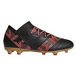 adidas NEMEZIZ 17.2 FG čierna 8 - Pánska futbalová obuv