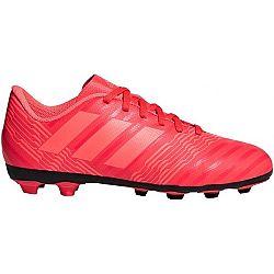 adidas NEMEZIZ 17.4 FxG J červená 33 - Detská futbalová obuv