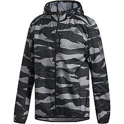 adidas OWN THE RUN JKT sivá M - Pánska bežecká bunda