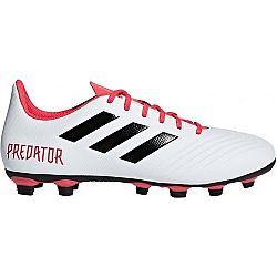 adidas PREDATOR 18.4 FxG čierna 9.5 - Pánska futbalová obuv