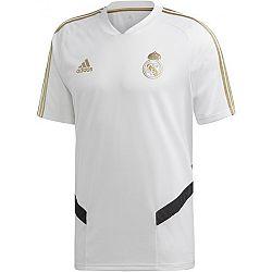adidas REAL TR JSY biela XL - Pánsky futbalový dres