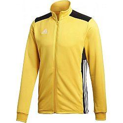 adidas REGI18 PES JKT žltá L - Pánska futbalová bunda