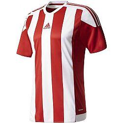 adidas STRIPED 15 JSY JR červená 128 - Chlapčenský futbalový dres