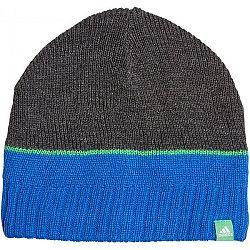 adidas STRIPY BEANIE čierna 54 - Detská čiapka