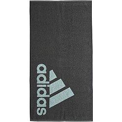 adidas TOWEL SIZE S tmavo šedá NS - Ručník