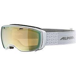 Alpina Sports ESTETICA HM biela NS - Lyžiarske okuliare