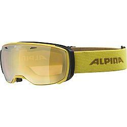Alpina Sports ESTETICA HM žltá NS - Lyžiarske okuliare