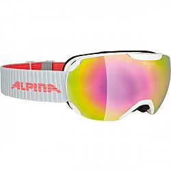 Alpina Sports PHEOS S MM biela NS - Unisex  lyžiarske okuliare