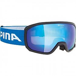 Alpina Sports SCARABEO JR MM biela NS - Detské lyžiarske okuliare