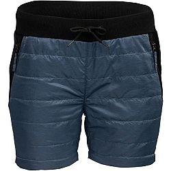 ALPINE PRO ABENO 2 modrá S - Dámske zateplené kraťasy