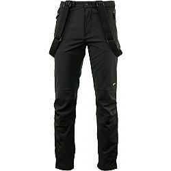 ALPINE PRO AMID 3 čierna M - Pánske lyžiarske nohavice