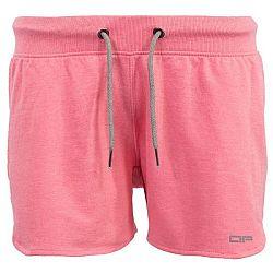 ALPINE PRO ASTARA 2 ružová S - Dámske šortky