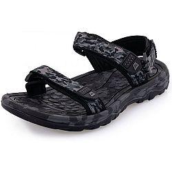 ALPINE PRO CALOS tmavo šedá 41 - Pánska letná obuv