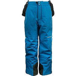 ALPINE PRO GUSTO sivá 152-158 - Detské lyžiarske nohavice