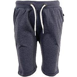 ALPINE PRO HASICO 2 tmavo šedá 104-110 - Chlapčenské šortky