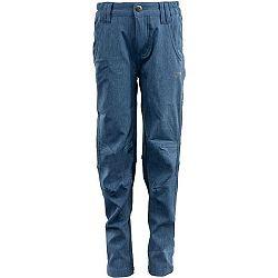 ALPINE PRO JERSO modrá 128-134 - Detské nohavice