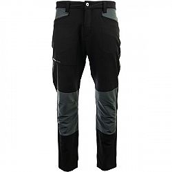 ALPINE PRO LEIK sivá 54 - Pánske outdoorové nohavice