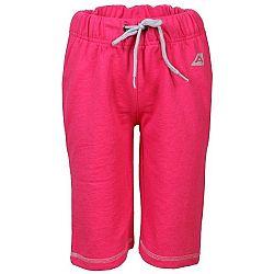 ALPINE PRO LIMPETO ružová 152-158 - Detské šortky