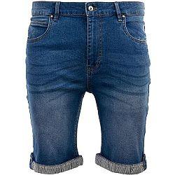 ALPINE PRO MAROK modrá 54 - Pánske šortky