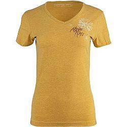 ALPINE PRO MARWA ružová XS - Dámske tričko