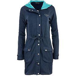 ALPINE PRO MORGANA 2 tmavo modrá XL - Dámsky kabát