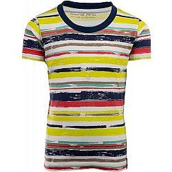 ALPINE PRO NEPRO žltá 152-158 - Detské tričko