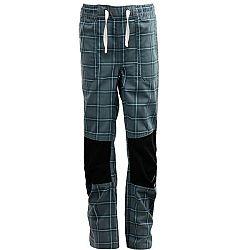 ALPINE PRO RAFIKO 2 sivá 128-134 - Detské nohavice