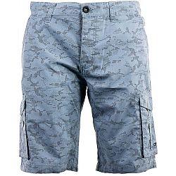ALPINE PRO SEBAST modrá 56 - Pánske šortky