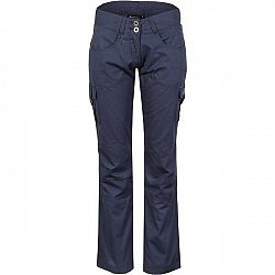 ALPINE PRO VIANA modrá 40 - Dámske nohavice