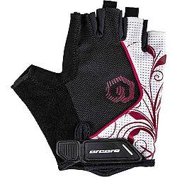 Arcore JADE biela L - Krátkoprsté cyklistické rukavice