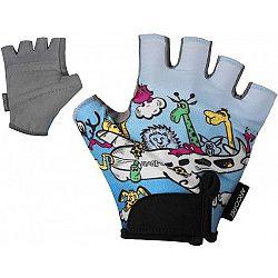 Arcore KIDS sivá 8 - Detské cyklistické rukavice