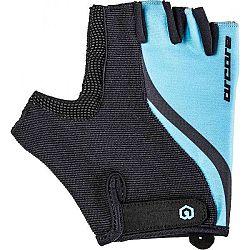 Arcore LEAF modrá S - Letné cyklistické rukavice