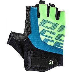 Arcore MUSKOX modrá L - Krátkoprsté cyklistické rukavice
