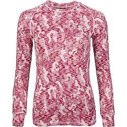 Arcore NESTA béžová XL - Dámske zimné tričko s dlhým rukávom