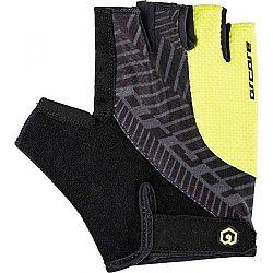 Arcore RIFF fialová XL - Krátkoprsté cyklistické rukavice