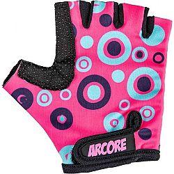 Arcore ZOAC fialová 8 - Detské cyklistické rukavice